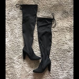 Size 6.5 - over the knee boots